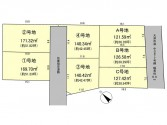 ウエストレイク下阪本3丁目 Ⅲ期 全7区画 区画図