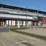 JR比叡山坂本駅(新快速停車)