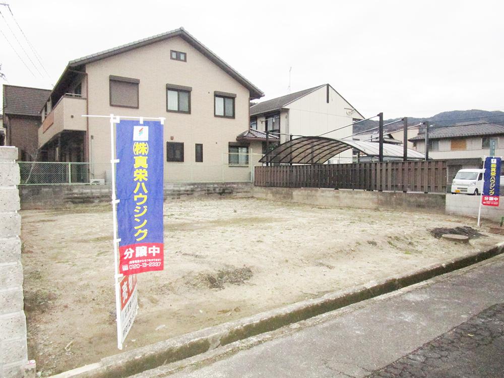 桜野町一丁目 建築条件無し売土地